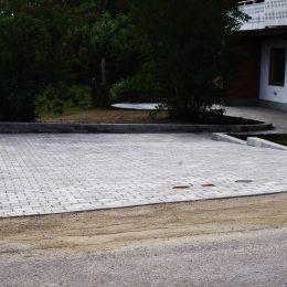 Ombyggnation av trädgård i Sundsvall