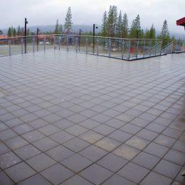 Betongplattor Björnrike torg