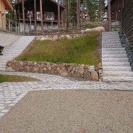 Ett år efter tomtbyggnation på Björnrike